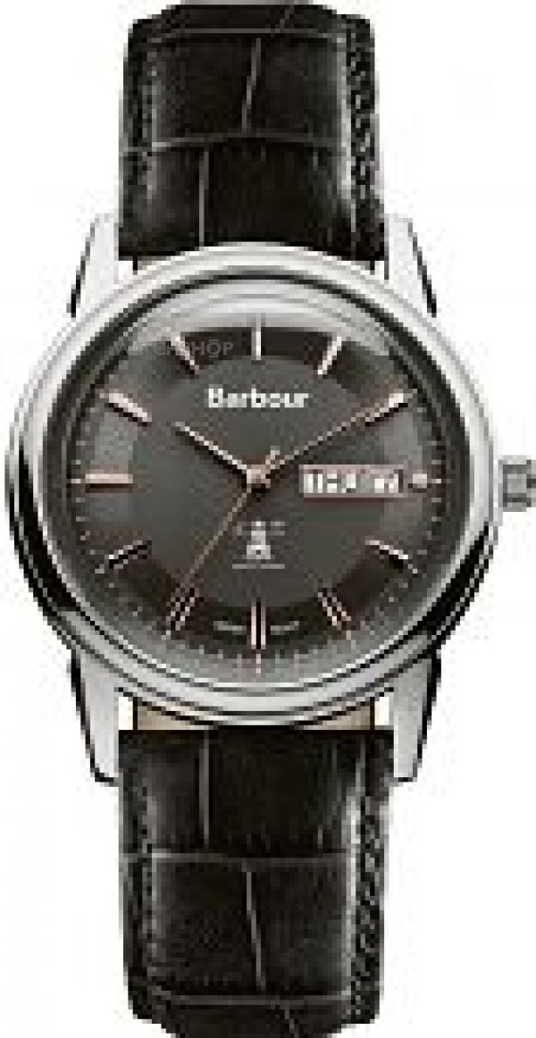 Mens Barbour Gosforth Watch BB036SLBK