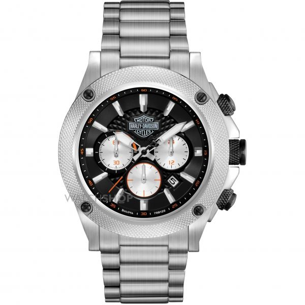 Mens Harley Davidson Chronograph Watch 78B126
