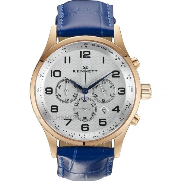 Mens Kennett Savro Modern Chronograph Watch SVRGWHRYBLMD