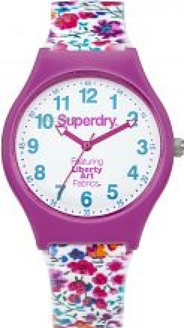 Ladies Superdry x Liberty Print Urban Watch SYL166V