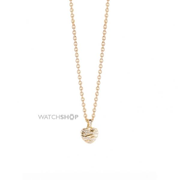 Ladies Guess Gold Plated Necklace UBN21609