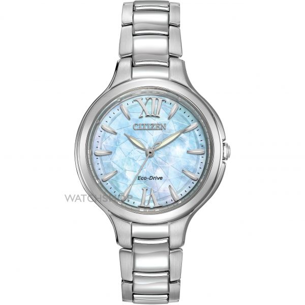Ladies Citizen Silhouette Eco-Drive Watch EP5990-50D