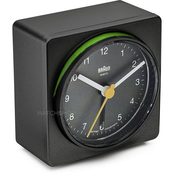 Braun Clocks Pivot Switch Alarm Clock BNC011BKBK