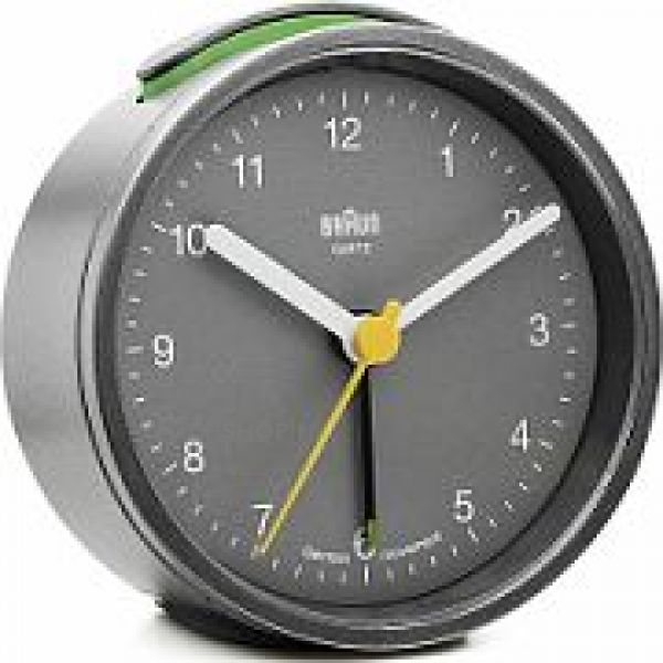 Braun Clocks Alarm Clock BNC012GYGY