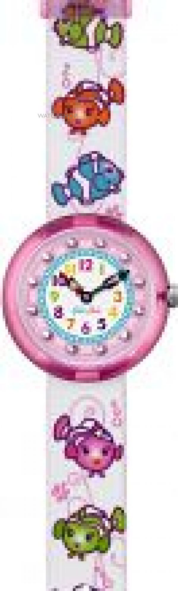 Childrens Flik Flak Cute Size Blubediblub Watch FBNP032