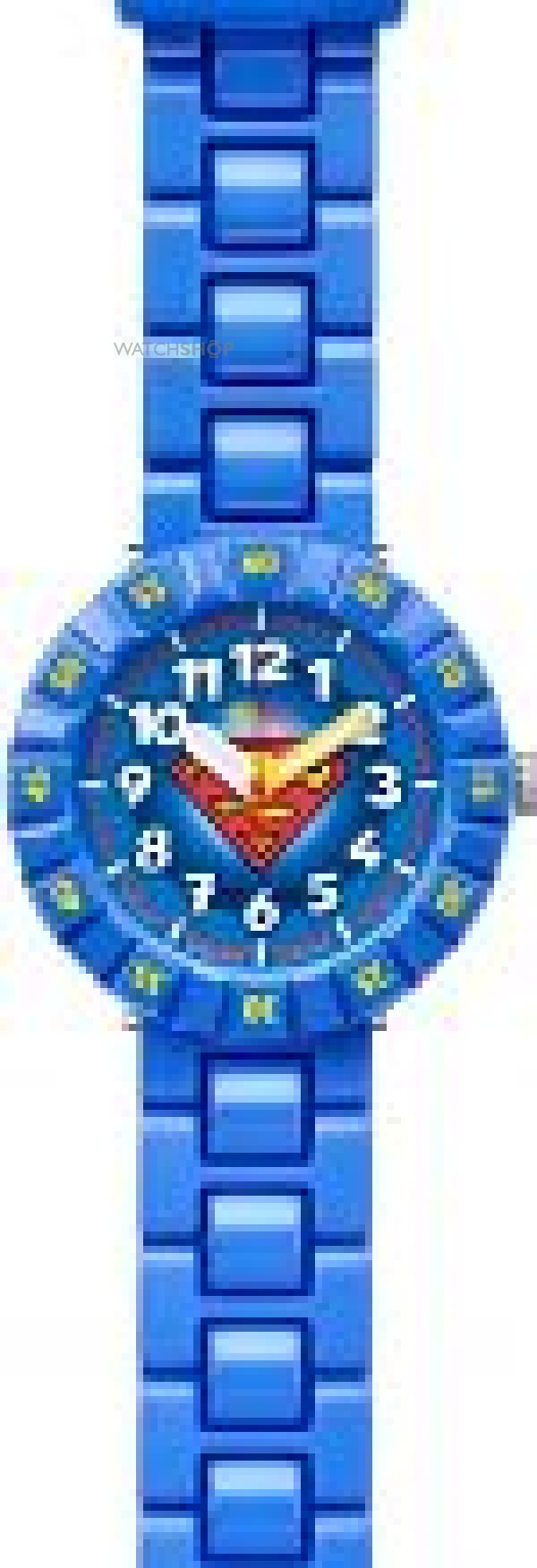 Childrens Flik Flak Superman Watch FFLP002