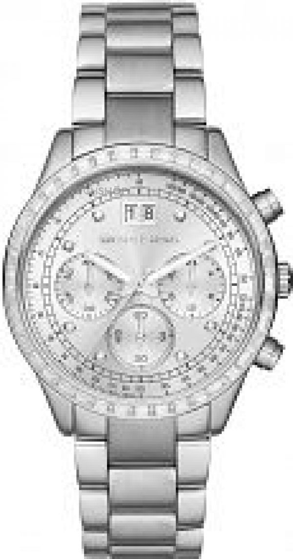 Ladies Michael Kors Brinkley Chronograph Watch MK6186