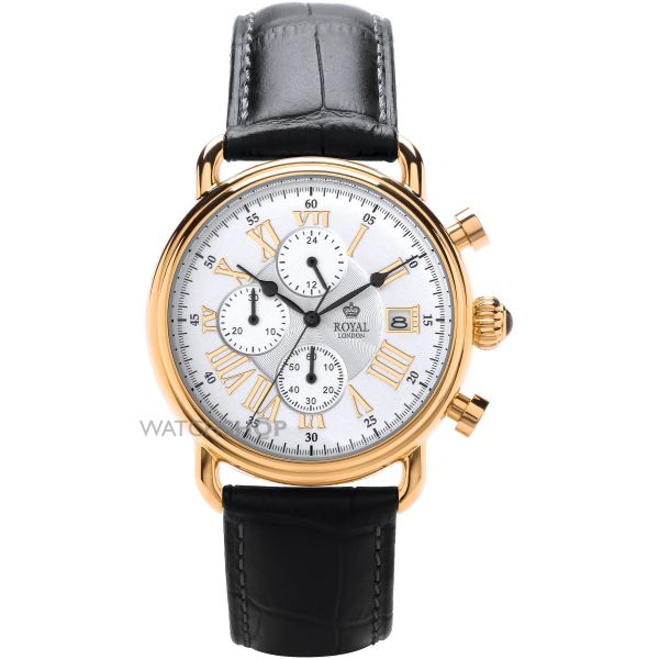 Mens Royal London Chronograph Watch 41249-04