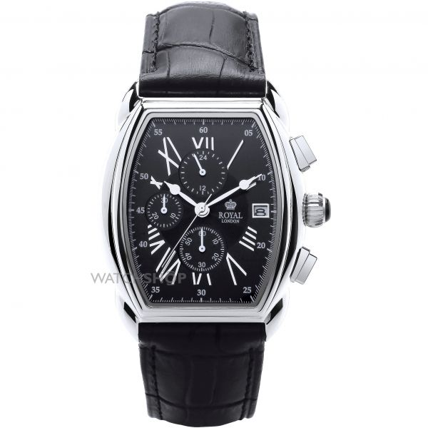 Mens Royal London Chronograph Watch 41261-01