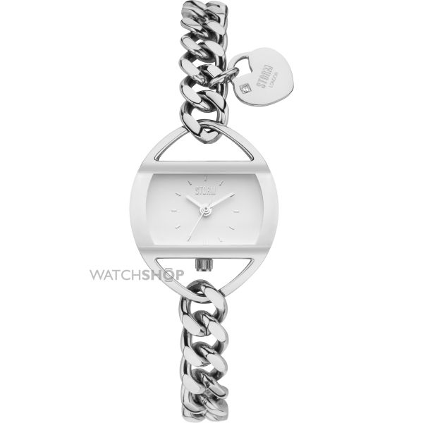 Ladies STORM Temptress Chain Watch TEMPTRESS-CHAIN-WHITE