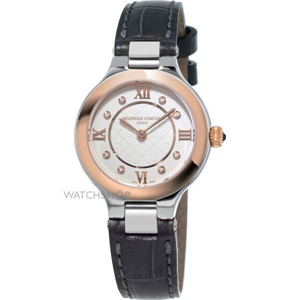 Ladies Frederique Constant Classics Delight Diamond Watch FC-200WHD1ER32