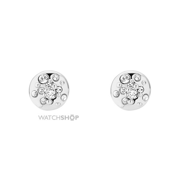 Ladies Karen Millen Crystal Sprinkle Stud Earrings KMJ562-01-02
