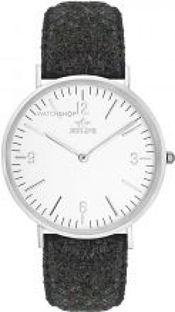 Unisex Birline Highwood Hill Silver Watch BIR002118