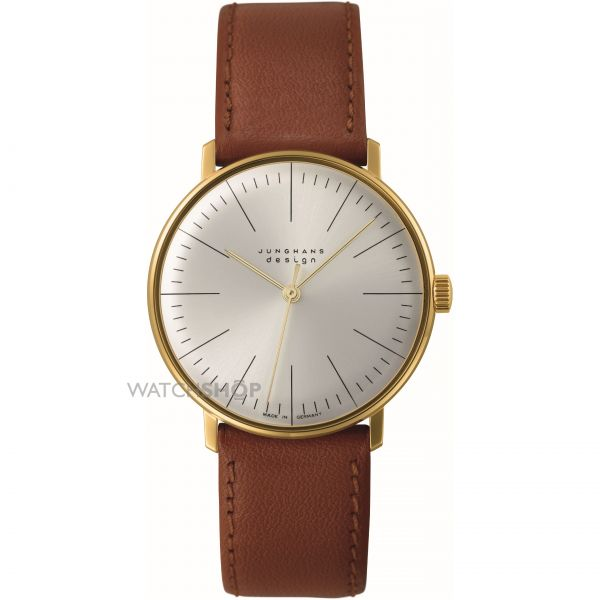 Mens Junghans max bill Handwinding Mechanical Watch 027/5703.00