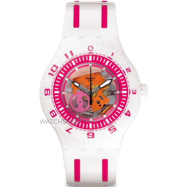 Mens Swatch Scuba - Feel The Wave Watch SUUW101