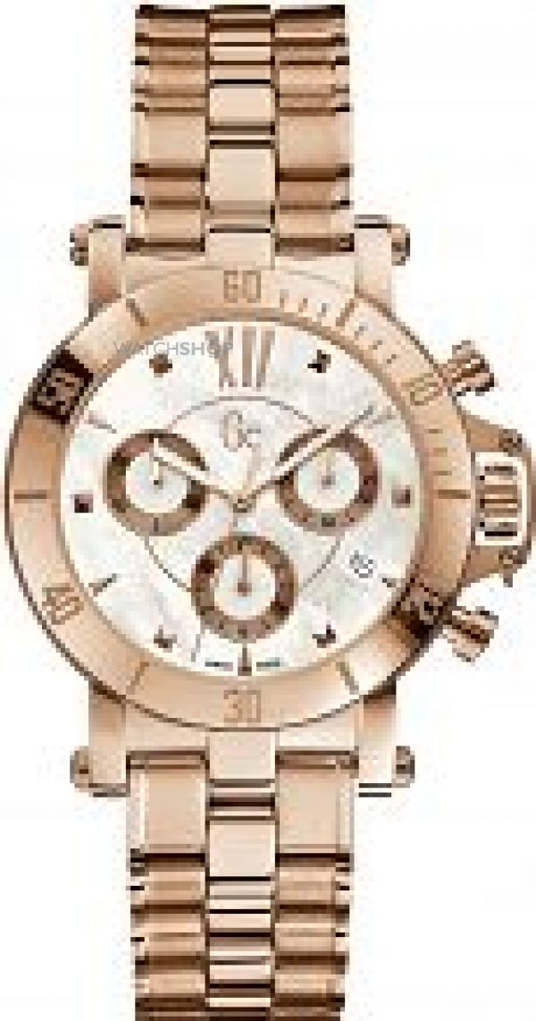 Ladies Gc Femme Chronograph Watch X73008M1S