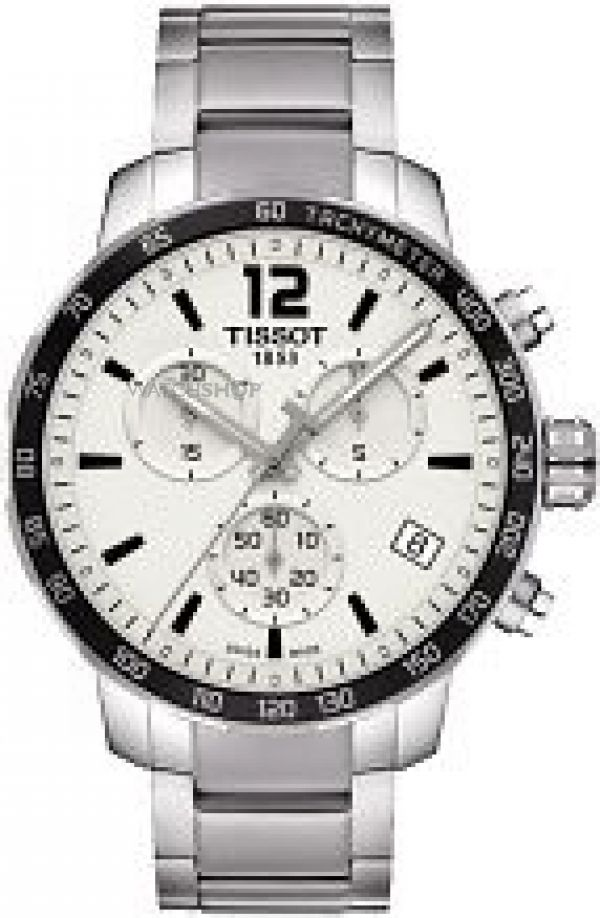 Mens Tissot Quickster Chronograph Watch T0954171103700