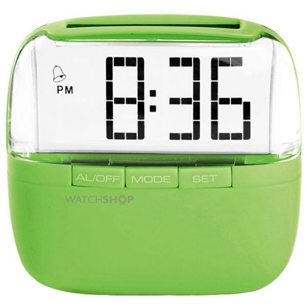 Lifemax Solar Alarm Alarm Clock Solar Powered 1436C