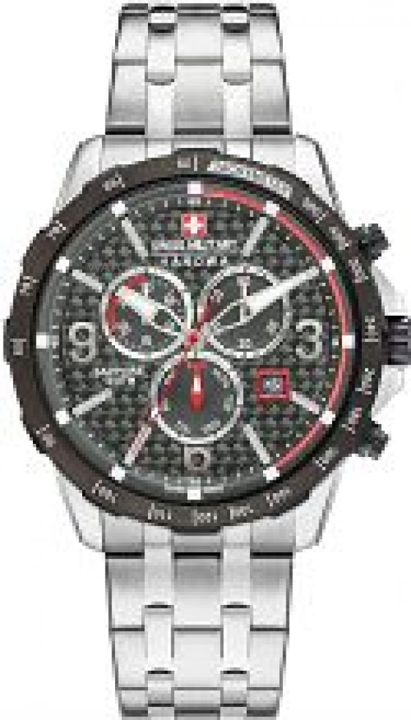 Mens Swiss Military Hanowa Chronograph Watch 6-5251.33.001