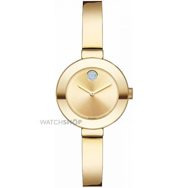 Ladies Movado Bold Bangle Watch 3600285