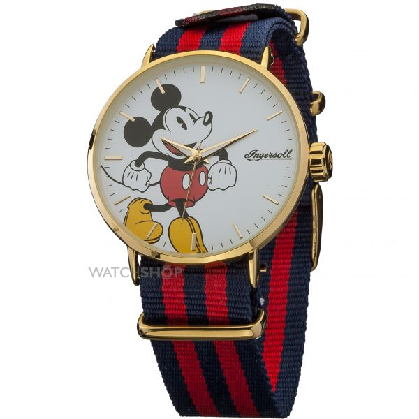 Unisex Disney by Ingersoll Classic Watch DIN007GDRD
