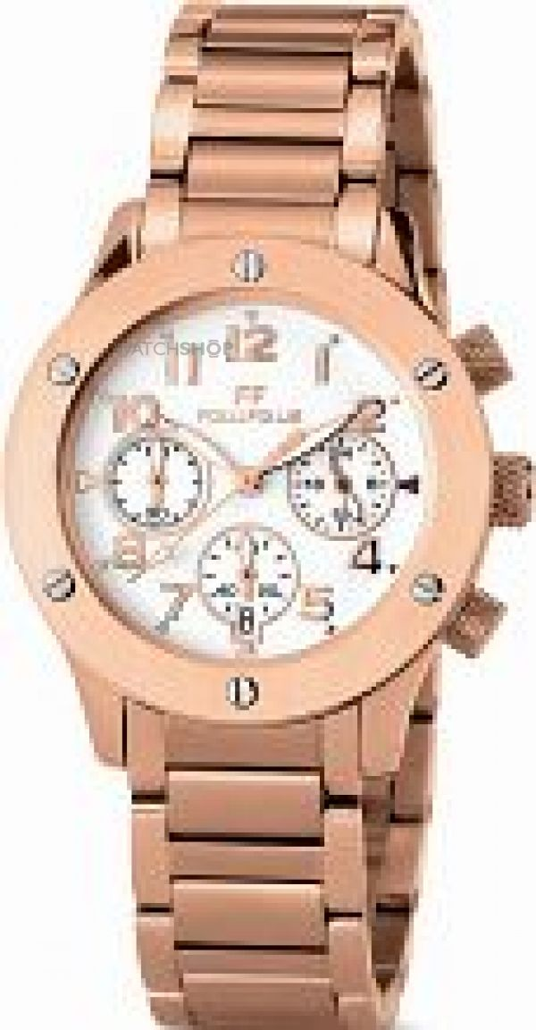 Ladies Folli Follie Ace Chronograph Watch 6025.0205