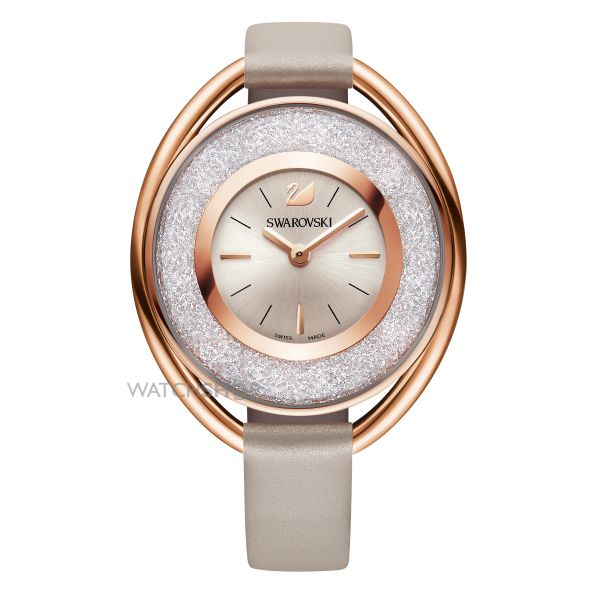 Ladies Swarovski Crystalline Oval Watch 5158544