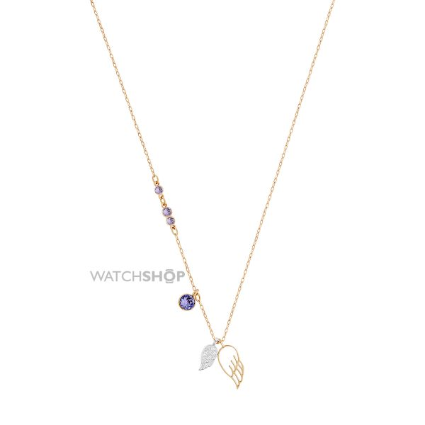 Ladies Swarovski PVD Gold plated Duo Necklace 5171264