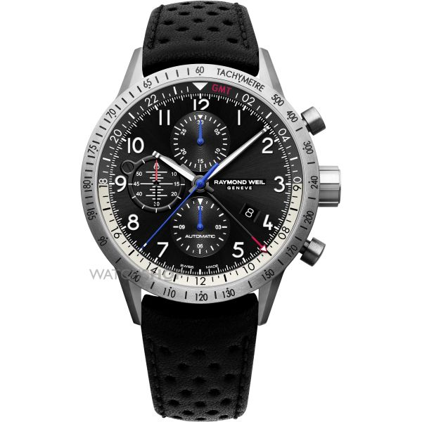 Mens Raymond Weil Freelancer Piper Limited Edition Automatic Chronograph Watch 7754-TIC-05209