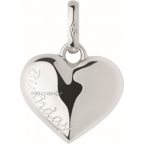 Ladies Links Of London Sterling Silver Keepsakes Birthday Heart Charm 5030.1890