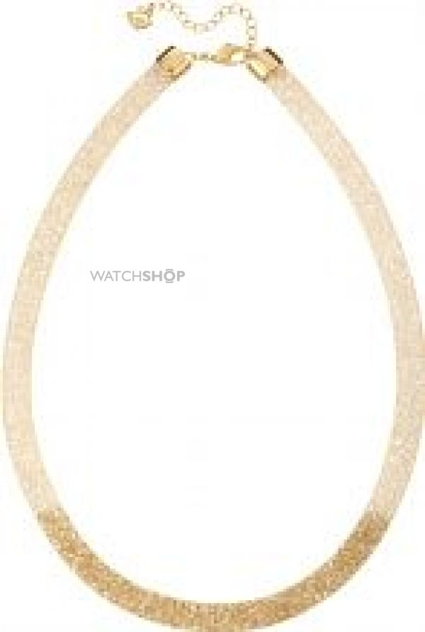 Ladies Swarovski PVD Gold plated Stardust Necklace 5119068