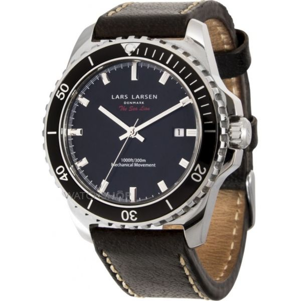 Mens Lars Larsen Sea Lion Watch 150SBDBL