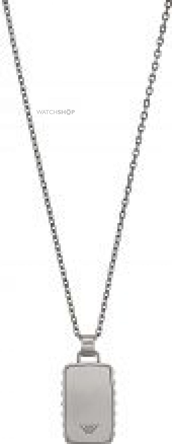 Mens Emporio Armani Stainless Steel Necklace EGS1879040