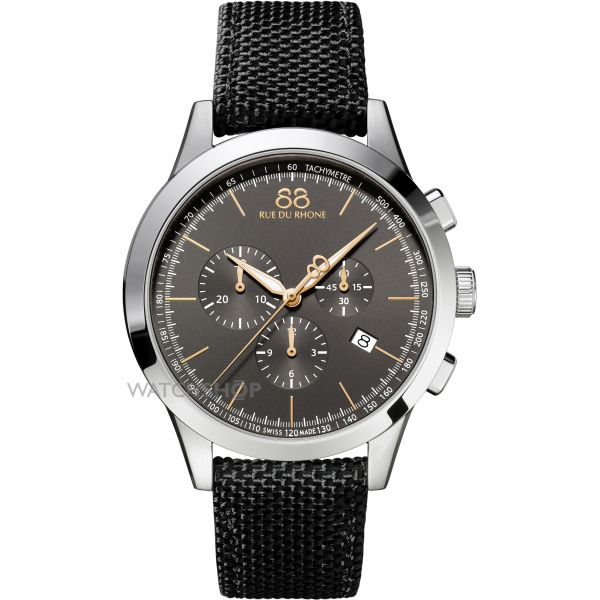 Mens 88 Rue Du Rhone Rive Chronograph Watch 87WA154306