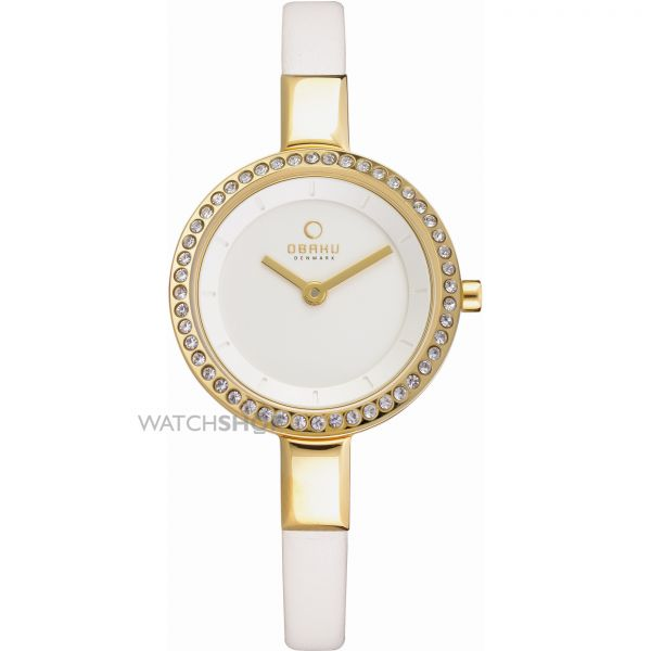 Ladies Obaku Siv Watch V129LEGIRW