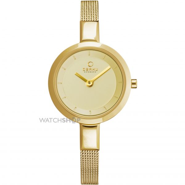 Ladies Obaku Watch V129LXGGMG