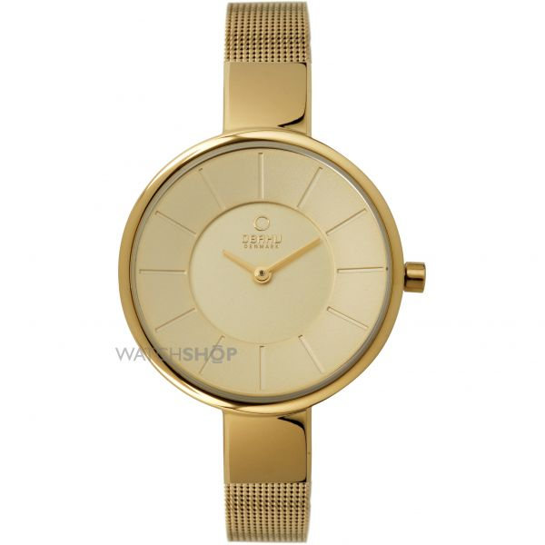 Ladies Obaku Sol Watch V149LXGGMG