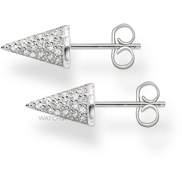 Ladies Thomas Sabo Sterling Silver Stud Earrings H1854-051-14