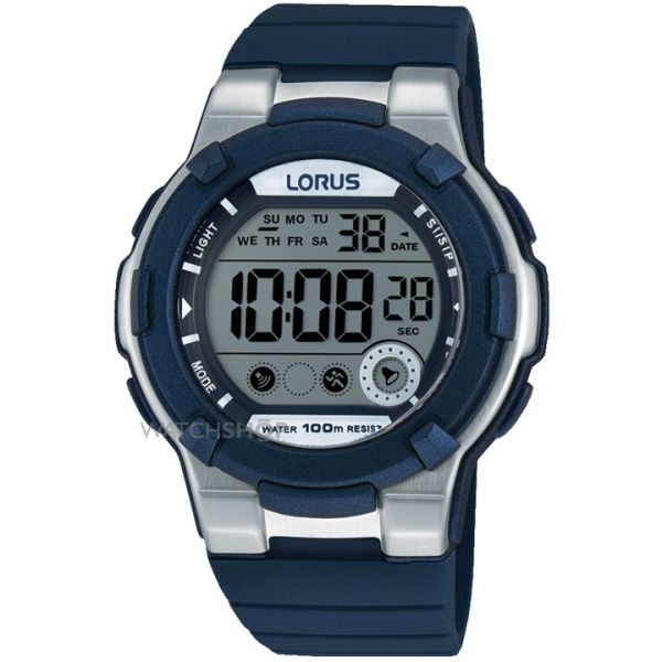 Mens Lorus Alarm Chronograph Watch R2355KX9