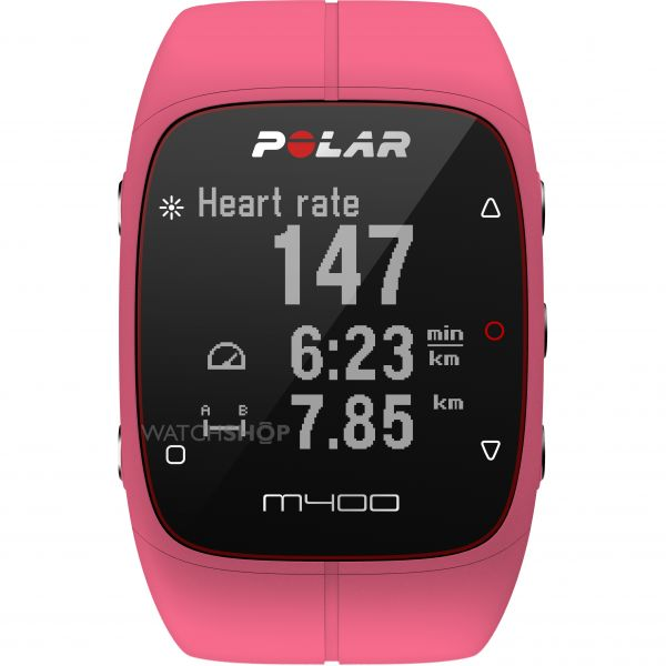 Unisex Polar M400 Bluetooth GPS Activity Tracker Heart Rate Bundle Alarm Chronograph Watch 90057193