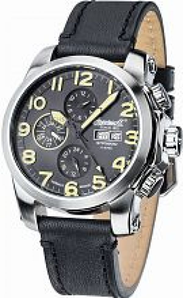 Mens Ingersoll Automatic Automatic Chronograph Watch IN2301SBK