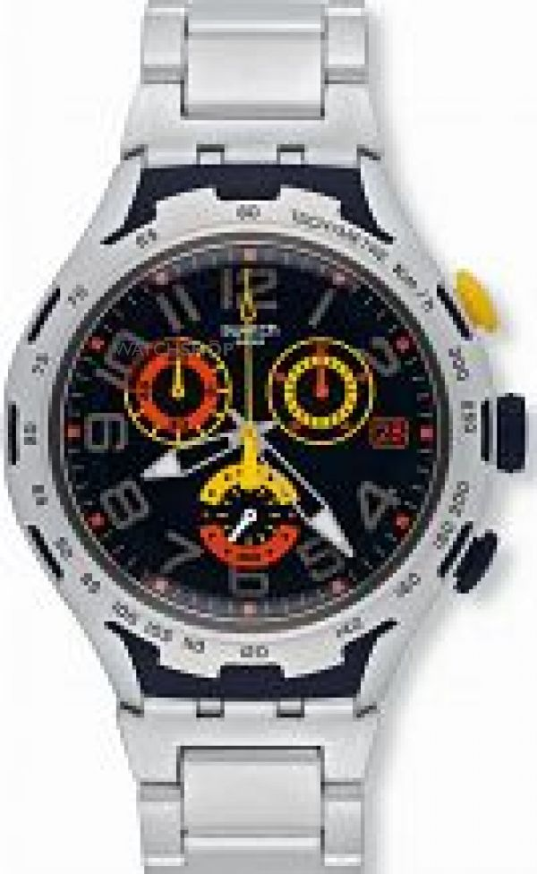 Mens Swatch Chronograph Watch YYS4006AG