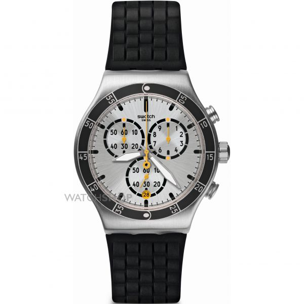 Mens Swatch Chronograph Watch YVS420