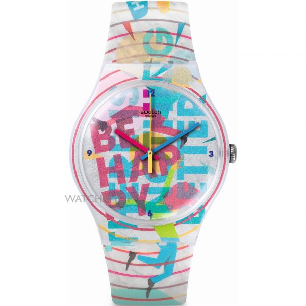 Unisex Swatch New Gent Watch SUOZ196