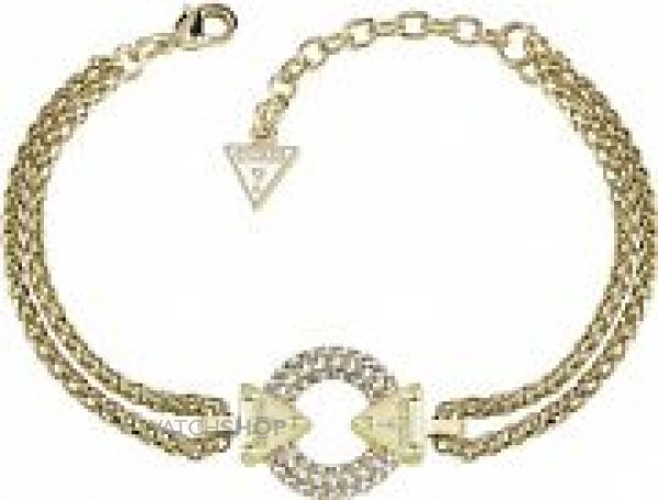 Ladies Guess Gold Plated Bracelet UBB71507-L