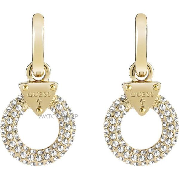 Ladies Guess Gold Plated Earrings UBE71503