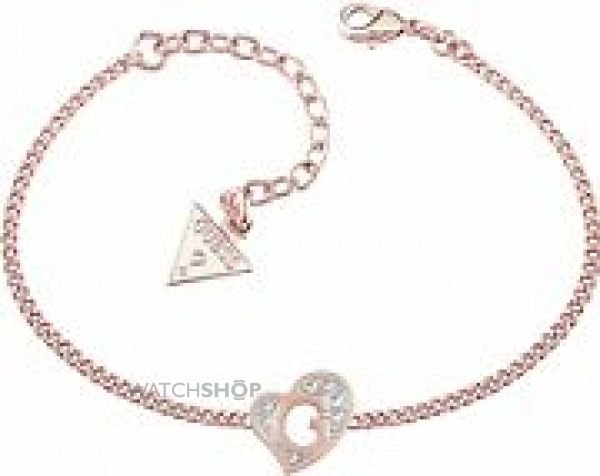 Ladies Guess Rose Gold Plated Bracelet UBB71529-L