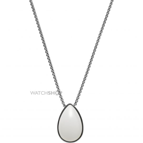 Ladies Skagen Stainless Steel Sea Glass Necklace SKJ0669040