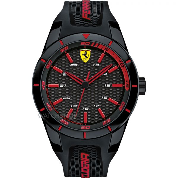 Mens Scuderia Ferrari RedRev Watch 0830245