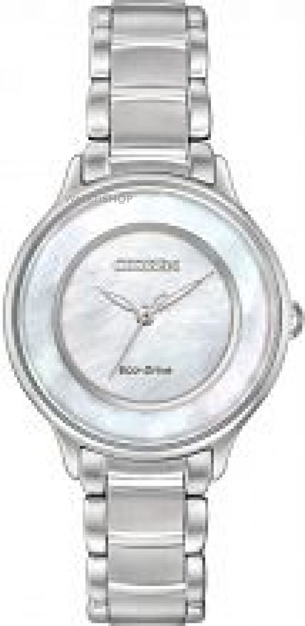 Ladies Citizen Circle Of Time Eco-Drive Watch EM0380-81D